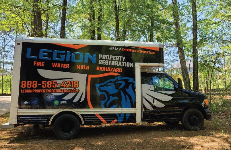 Legion property restoration