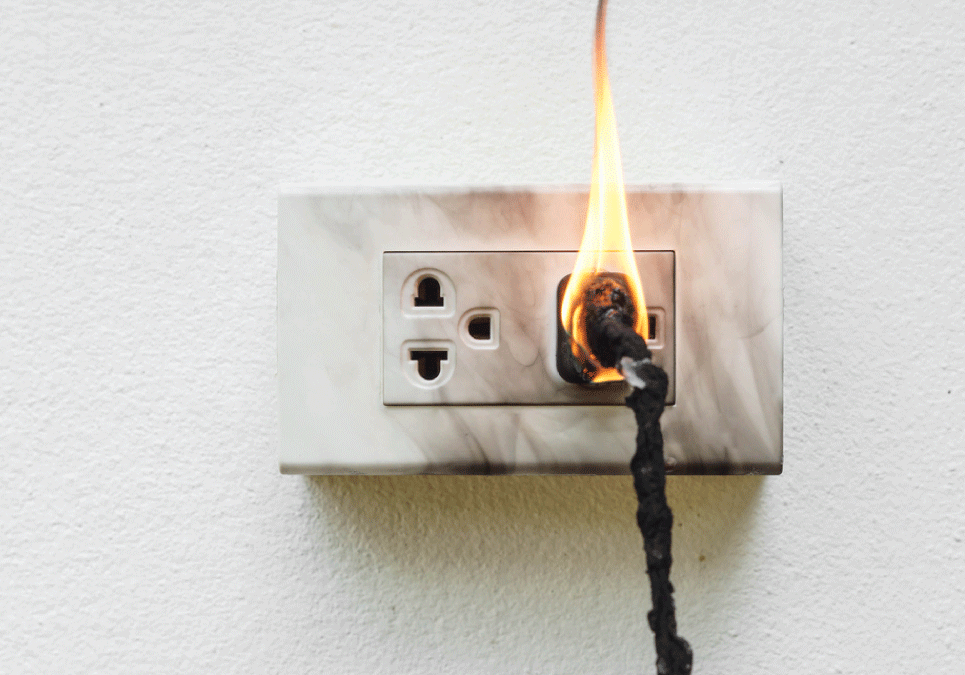 Electrical Fire Damage